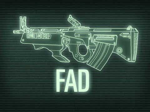 fad - http://xboxahoy.com/weapons-of-modern-warfare-episode-2-the-fad The Weapons of Modern Warfare, Episode 2. History and vital statistics of the FAD assault rif...