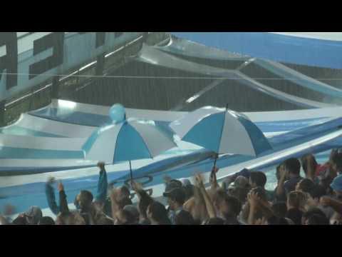 Aliento bajo la lluvia - Racing 1 - 1 Tigre - La Guardia Imperial - Racing Club - Argentina - América del Sur