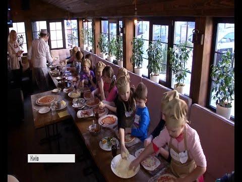 Як діти ветеранів АТО готували піцу для поранених бійців військового шпи...