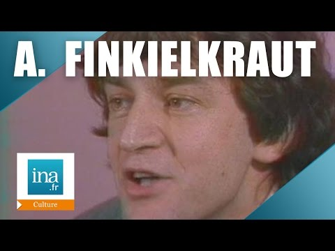 """Alain Finkielkraut à la télévision en 1980 pour la sortie du """"Juif imaginaire"""""""