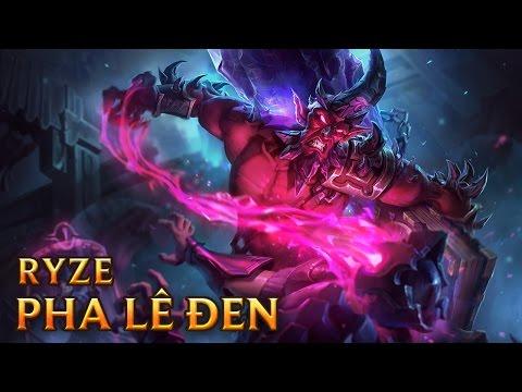 Ryze Pha Lê Đen - Dark Crystal Ryze