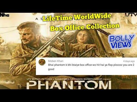 PHANTOM Bollywood Movie LifeTime WorldWide Box Office Collections