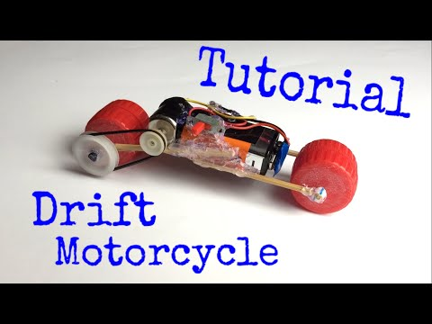 How to make an electric Motorcycle - Mini electric car - Tutorial - Drift