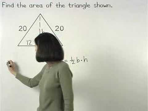 Area of Triangle Video