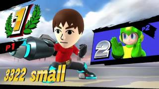 Mii Gunner Shield Break Set-up: Bomb Drop (Down-B  2) to dtilt/utilt