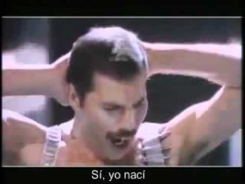 Freddie Mercury I Was Born To Love You  (en Español)