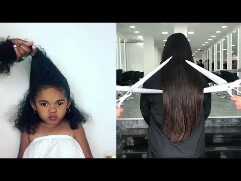 New Viral Hairstyles For Yours Inspiration ❤️ Amazing Hair Transformations 2018 (видео)