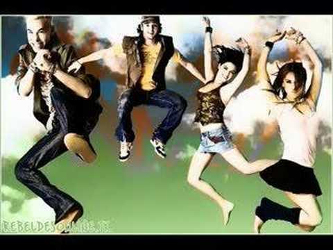Tekst piosenki RBD - Me dar po polsku