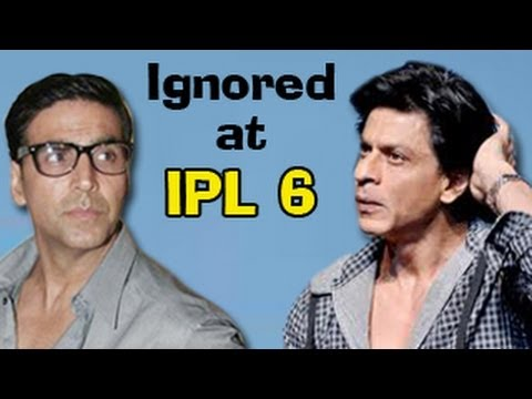 Akshay Kumar gets IGNORED during IPL 6 match