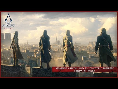 Assasins Creed: Unity Xbox One trailer
