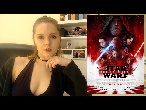 Star Wars The Last Jedi Spoilery Discussion/Review - That Movie Chick (видео)