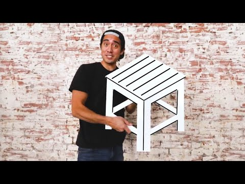How to Shrink Yourself -  Furniture Optical Illusions