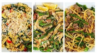 *NEW* Pasta Recipes | Fresh Spring Inspired Ideas by The Domestic Geek