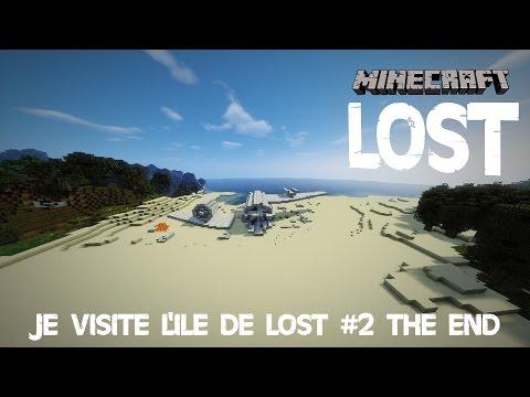 MINECRAFT - JE VISITE L'ÎLE DE LOST - EPISODE 2 - THE END (+Infos ZeldaThon)