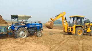 Sonalika tractor & jcb fail in the field
