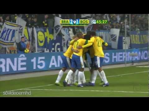 bósnia - AMISTOSO INTERNACIONAL Estádio AFG Arena, Saint Gallen (SUI) BRASIL 2 x 1 BOSNIA HERZEGOVINA.