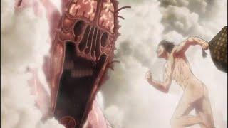 Humanity Vs The Biggest Titan   Attack On Titan Season 3   Eng Sub