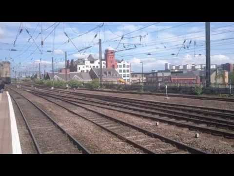 LNER 60163 'Tornado' passing Metro Centre & Newcastle 4th...