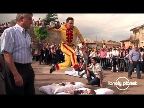 Baby-jumping festival in Spain – Lonely Planet travel video