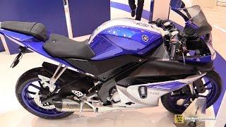 Video 2016 Yamaha R125 - Walkaround - 2015 Salon de la Moto Paris MP3, 3GP, MP4, WEBM, AVI, FLV Juli 2018