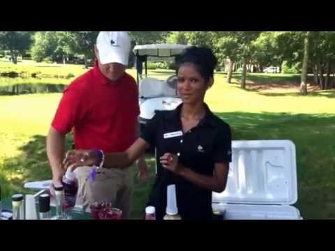 Signature cocktails on the 11th hole