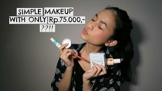 Video Chatty - Simple Makeup With Only Rp.75.000 ?! MP3, 3GP, MP4, WEBM, AVI, FLV Mei 2019