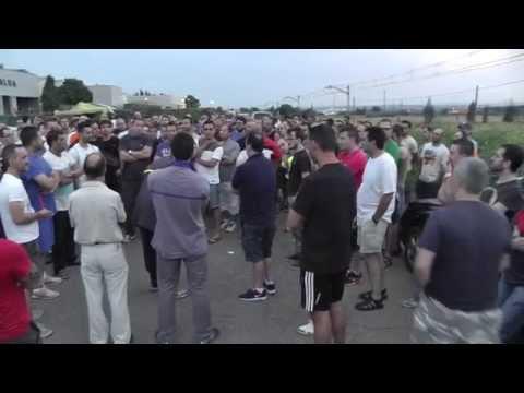 Huelga en Alumalsa