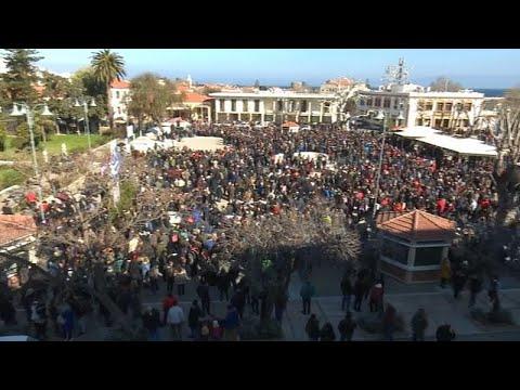 Χίος: Μαζική κινητοποίηση κατά του σχεδιασμού για το μεταναστευτικό…