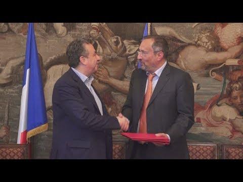 Πρωτόκολλο συνεργασίας μεταξύ Περιφέρειας Κρήτης, Πρεσβείας της Γαλλίας και Γαλλικού Ινστιτούτου