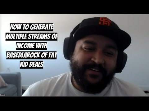 Creating Multiple Streams of Income. Why 1 to 2 streams is the Hardest part with BasedLaRock of FKD