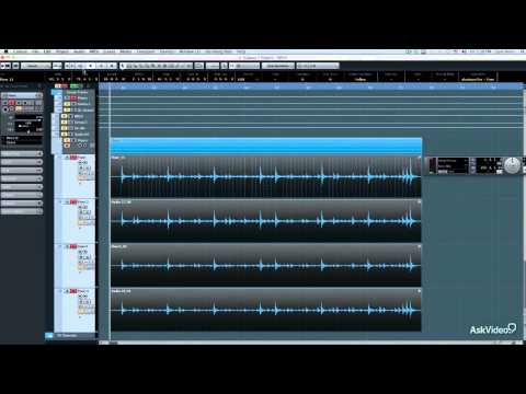 Cubase 7 404: Evolution of a Song – 12. Multi Drum Editing
