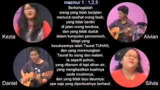 Download Lagu mazmur 1 : 1- 3 (cipt. Alvian Christy ) Xsample Ministry Mp3