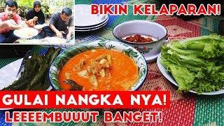 Video Gulai Nangka dari Kebun Sendiri + Sambel ikan + Lalapan Dijamin Muaaaaantep!! MP3, 3GP, MP4, WEBM, AVI, FLV Maret 2019