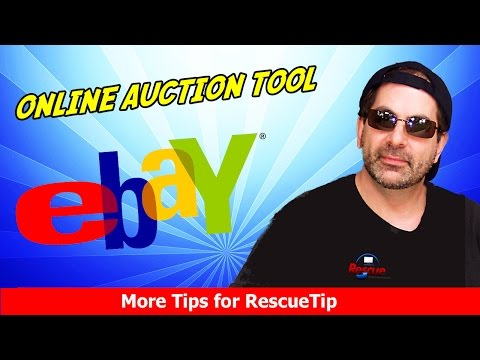 DON'T BID until you see this ebay Online Auction Tool – NOT a Sniping tool – Free