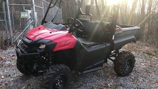 8. 2017 Honda Pioneer 700 Customer Review