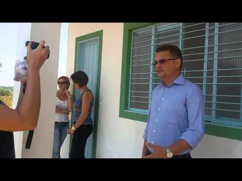 Prefeito Márcio Pinheiro, fala sobre importância do Aterro Sanitário para  o município