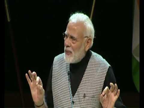 PM Modi's speech at interacts with the Indian Diaspora, Stockholm University