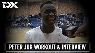 Peter Jok Pro Day Workout Video and Interview