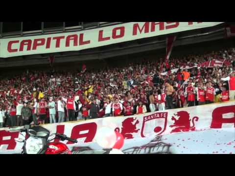 La Guardia Pte Santafe vs Nacional - Abril 25 de 2012.mov - La Guardia Albi Roja Sur - Independiente Santa Fe