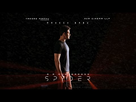 Spyder Movie Motion Poster