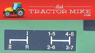 3. Understanding Tractor Transmissions