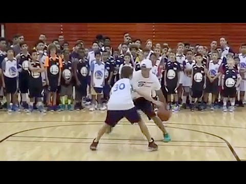 Stephen Curry Breaks Kids' Ankles at Basketball Camp