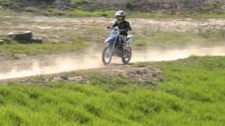 8. 7yr old Jumping TTR-110 Dirtbike