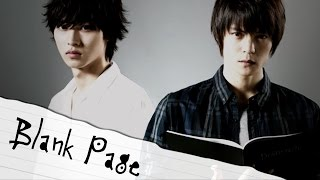 Blank Page Death Note Drama  Music Video