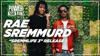 Rae Sremmurd on Sremmlife 3, Tour with Gambino, Working with Mike WiLL Made-It and more!