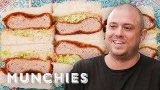 How To Make A Chicken Katsu Sando with Matt Abergel by Munchies