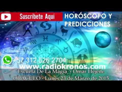HORÓSCOPO Y PREDICCIONES SIGNOS E INTERSIGNOS DEL ZODIACO 23/MARZO/2015
