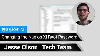 Nagios: Changing Nagios XI Root Password
