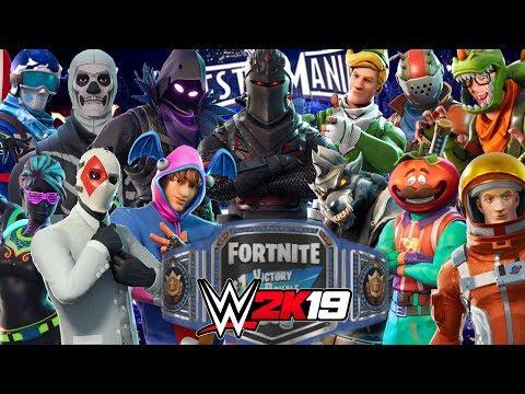 FORTNITE ROYAL RUMBLE | WWE 2K19 Gameplay