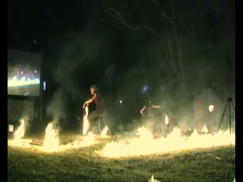 Threeworlds Fire Twirling Comp 2009 Winners Part 1